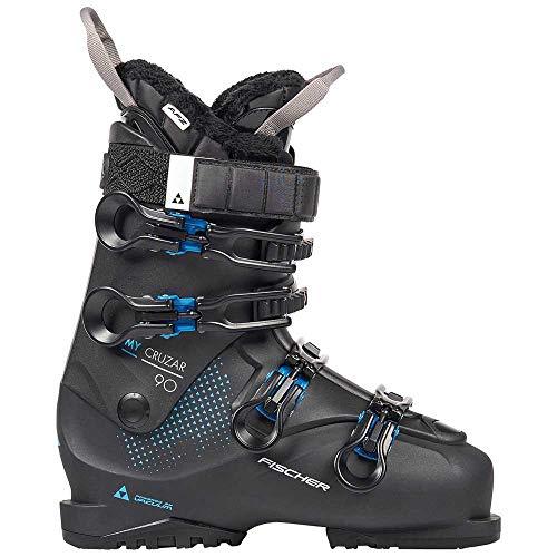 FISCHER Unisex– Erwachsene, schwarz, 23.5 Damen Skischuhe My CRUZAR 90 PBV, 24.5, 245
