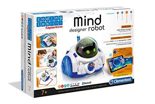 Clementoni 12087 - Mind Designer Robot Educativo Intelligente, 6 - 10 anni