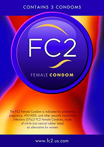 FC2 Female Condom by Female Health Company-bulk 6 count