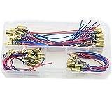 XINGYHENG 40pcs of Mini Laser Dot Diode Module Head WL Red 650nm 6mm 5V 5mW and 3V 5mW Each of 20Pcs