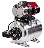 Einhell Groupe de surpression GC-WW 1250 NN (1200 W, Hauteur de refoulement...