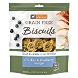 1 Pound Bag - Simply Nourish Grain Free Biscuits Chicken & Blueberry Recipe 1-16oz Resealable Bag