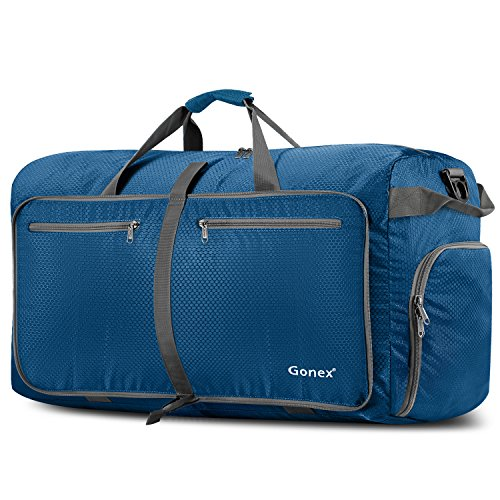 Gonex Sac de Voyage 100L Sac Pliable Sac Imperméable Pliant pour Camping...