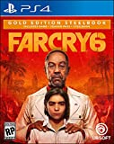 Far Cry 6 PlayStation 4 Gold Steelbook Edition with free upgrade to the digital PS5 version (Video Game)