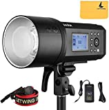 Godox AD600Pro 600Ws TTL Built-in 2.4G HSS All-In-One Outdoor Flash With Li-on Battery Built-in Godox Wireless X System Compatible with Canon E-TTLII, Nikon i-TTL, Sony, FUJIFILM, Olympus, Panasonic