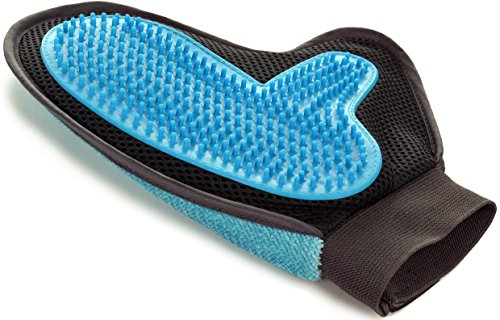 2-in-1 Pet Glove: Grooming Tool + Furniture Pet...
