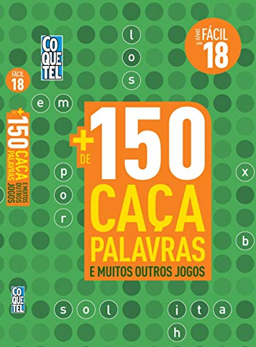 LIVRO COQUETEL + 150 CAÇAS E MAIS OUTROS JOGOS