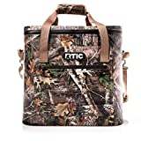 RTIC Soft Cooler 40, Kanati Camo, Insulated Bag, Leak Proof Zipper, Keeps Ice Cold for Days