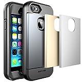 Apple iPhone SE / 5S / 5 Custodia , SUPCASE Cover resistente e robusta di tutto il corpo acqua con Built-in protezione dello schermo , 3 cover...