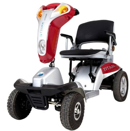 Hummer XL Folding 4-Wheel Electric Mobility Scooter Tzora Titan 4