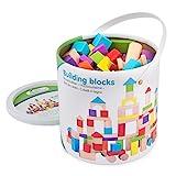 New Classic Toys Jeu Éducatif pour Enfants Baril de Cubes - Colorés - 100...