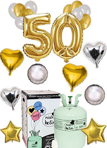 Bombona Helio Mister Helio y Pack 50 Aniversario (Helio números 50)