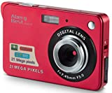 AbergBest Appareil Photo 21 Mega Pixels 2.7 LCD Rechargeable HD Digital...