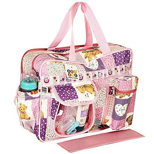 Bey Bee Mama's Bag {Diaper Bag} (Purple, One Size)