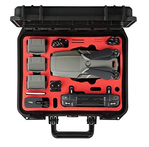 MC-CASES Valigetta per DJI Mavic 2 Pro/Zoom e DJI Smart Controller - Edizione compatta  Prodotta in Germania - Estremamente stabile