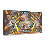 CHARIZARD-GX: With its swift wings and flaming breath, this powerful Pokemon can unleash a Crimson Storm from above COLLECTIBLE: 6 Pokémon TCG booster packs to expand your collection PLAY ONLINE: A code card for the Pokémon Trading Card Game Online 1...