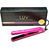 Luv Pink Hair Straightener, 100% Solid Floating Ceramic Plates