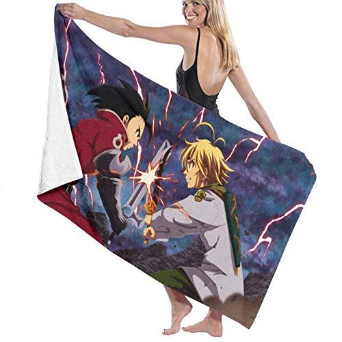 Toallas de playa Los siete pecados mortales grandes de microfibra toalla de baño de playa ligera deportes viajes gimnasio verano toallas 80* 130 cm