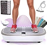 Sportstech 3D Vibration Plate VP300 | Mega Fat Burner + 5 bandes de fitness...