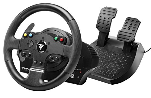 Thrustmaster TMX: ergonomic racing wheel with a 2-pedal pedal set - Compatible with Xbox One and PC, Works on Xbox Series X - UK version (Xbox One)
