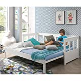 Alfred & Compagnie Lit extensible 90-180x200 LEÏA blanc