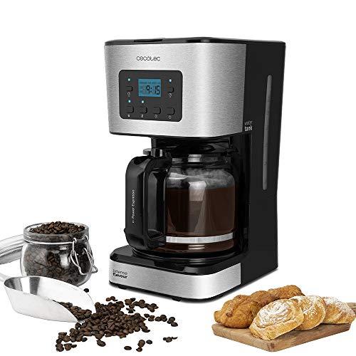 Cecotec Coffee 66 Smart - Cafetera de Goteo, Programable con Tecnología ExtemAroma, Función AutoClean