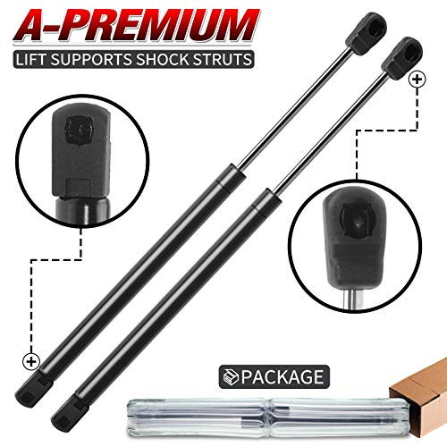 A-Premium Hood Lift Supports Shock Struts Replacement for Ford Expedition 1997-2006 F-150 F-250 (Not for Super Duty) 1995-2003 4478 2-PC Set