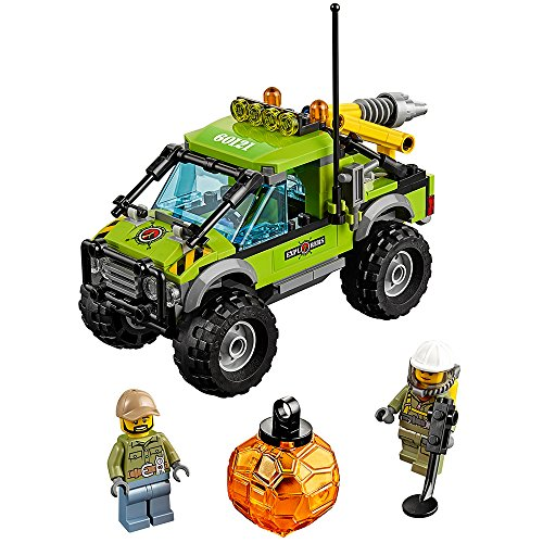 LEGO City Volcano Explorers 60121 Volcano Exploration Truck Building Kit (175 Piece)