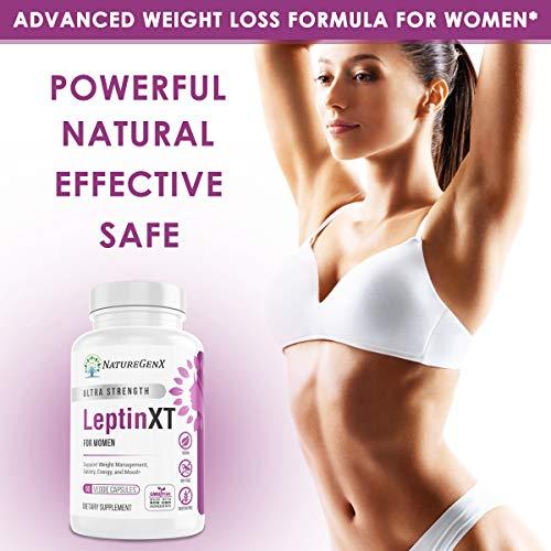 NatureGenX - Leptin XT (2-Pack) Leptin Rresistance Supplements for Weight Loss -Leptin Hormone Supplements - Vegan - 60 Pills -Leptin Burn for Women 6