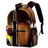 Mochila retro dinosaurios mochila escolar mochila de viaje casual para mujeres adolescentes niñas niños