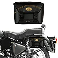 Vehicle Compatibility: All Bikes and Scooters (Geared/Non-Geared) all models Better than leather, unlike pure leather it can endure all weather conditions without damaging Leatherette material that gives look of leather with extra durability Compact ...