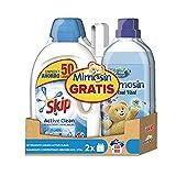 Pack Skip Líquido Active Clean 50 lavados + Mimosin Azul Vital 60 lavados -...