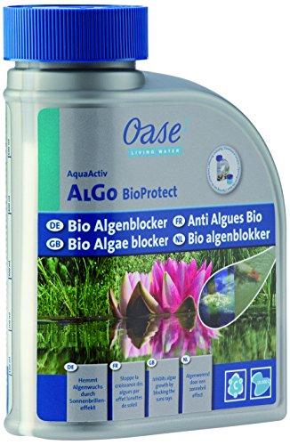 Oase 51279 AquaActiv Algo Bio Protect 500 ml, Grigio, 12x6x16.5 cm