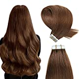 YILITE Tape in Human Hair Extensions 16 inches 20pcs 40g Silky...