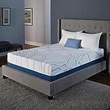 Serta SleepToGo 12' Gel Memory Foam Luxury Mattress King