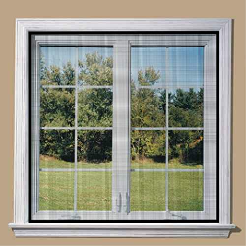 Classic Mosquito Net pre Stitched Fiber Glass Window net (Size: 120cm X 120cm / 47Inch X 47Inch /...