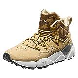 RAX Men's Lightweight Leather Hiking Boots Warm Outdoor Walking Shoe(Khaki,10)