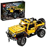 LEGO 42122 Technic JeepWrangler Voiture-Jouet 4x4, SUV Tout-Terrain Jeu de...