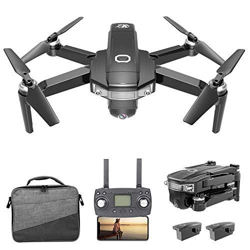 Goolsky CSJ-X8 Drone Senza spazzole con Fotocamera 4K Drone GPS MV Interfaccia Way-Point Flying Gesture Foto Video RC Quadcopter Borsa Portatile w/ 1/2/3 Batteria