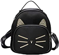 Size: Small, Outer Material: PU, Inner Material: Satin, Design: Cadence Backpack Flaunt your rich taste by carrying this bag with excellent finish, it will elevate your fashion quotient in no time. The design of the bag is trendy yet simple. Made up ...