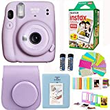Fujifilm Instax Mini 11 Lilac Purple Camera with Fuji Instant Film Twin Pack (20 Pictures) + Purple...