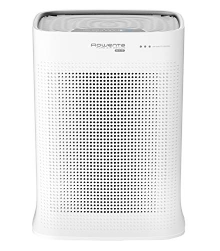 Rowenta PU3040 Luftreiniger Pure Air Nanocapture, Vorbeugung gegen Allergene, Luftwäscher, Partikelfilter, automatische Reinigungsleistung, für 120 m² große Räume