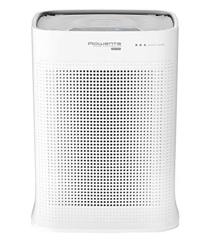 ROWENTA PURIFICATEUR D'AIR PURE AIR, automatique, 4 niveaux de filtration, Traitement des allergènes et particules fines, Filtre anti allergie, anti-pollution anti bactérien PU3040F0