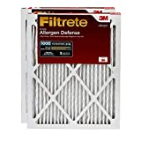 Filtrete MPR 1000 20x25x1 AC Furnace Air Filter, Micro Allergen Defense, 2-Pack