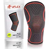 Knee Compression Sleeve for Men & Women - Knee Brace Support for Running, Jogging, Sports, Joint Pain Relief, Arthritis & Injury Recovery - Knee Braces for Knee Pain - Single Wrap X-Large, Red
