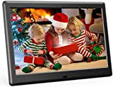 DBPOWER 10 Inch Digital Picture Frame, Advanced Electronic Photo & Video Frame with 1280x800 IPS HD Display, Supports 1080P, Auto-Rotate, Remote Control, Slideshow, Time, Calendar View & USB/SD Slot