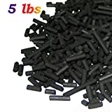 AquaCity8482;Bulk Pack Economy Activated Charcoal Carbon Pellets for Aquarium Fish Tank Koi Reef Filter (5 lbs)