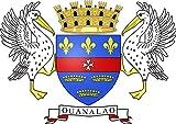 magFlags Drapeau Large Saint Barthelemy | Saint-Barthélemy | Drapeau...