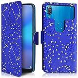 KARYLAX Étui Portefeuille Diamant Bleu (Ref.8-C) pour Smartphone Hisense F17 Pro