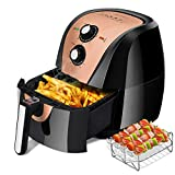 Secura Air Fryer XL 5.3 Quart 1700-Watt Electric Hot Air Fryers Oven Oil Free Nonstick Cooker...